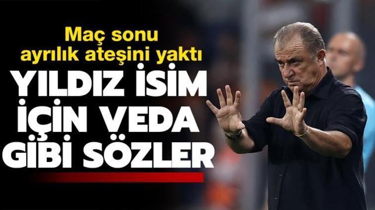 Fatih Terim'den Galatasaray-PSV maçı sonrası yıldız isim için veda gibi sözler
