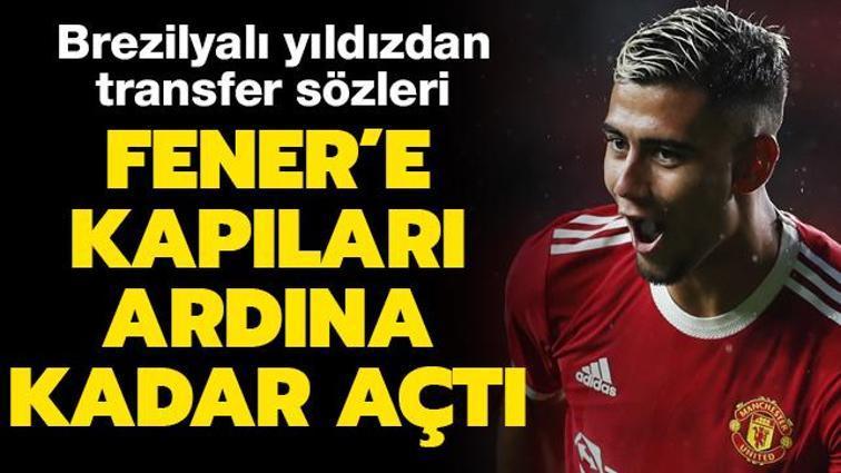 """Andreas Pereira'dan Fenerbahçe sözleri: Neden olmasın"""" Transferi yönetime bıraktım"""