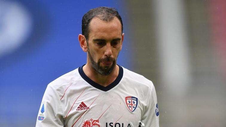 Diego Godin'den Beşiktaş'a kötü haber geldi