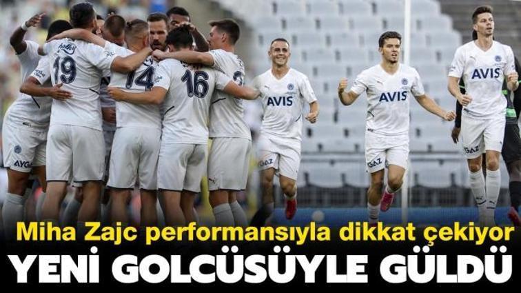 Fenerbahçe hazırlık maçında yeni golcüsüyle kazandı