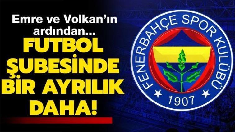 Son dakika Fenerbahçe haberleri... Fenerbahçe'de bir ayrılık daha
