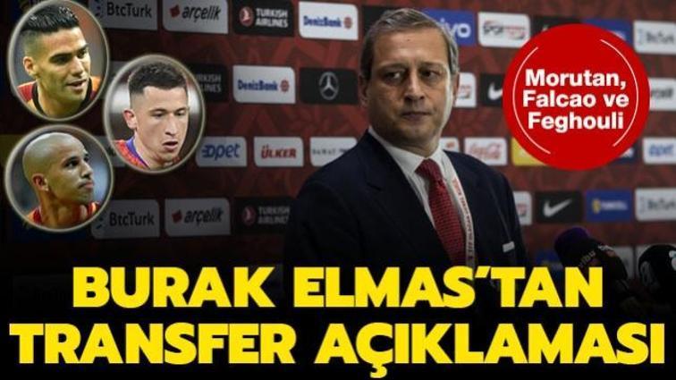 Burak Elmas'tan transfer açıklaması: 'Anlaşma olmayacak'