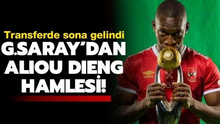 Son dakika Galatasaray haberleri... Aşk yeniden! Galatasaray Aliou Dieng'i bitiriyor