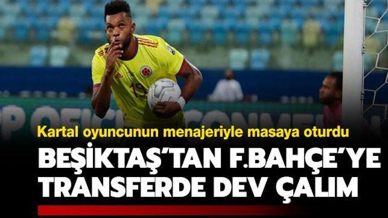 Beşiktaş'tan Fenerbahçe'ye transfer çalımı geliyor