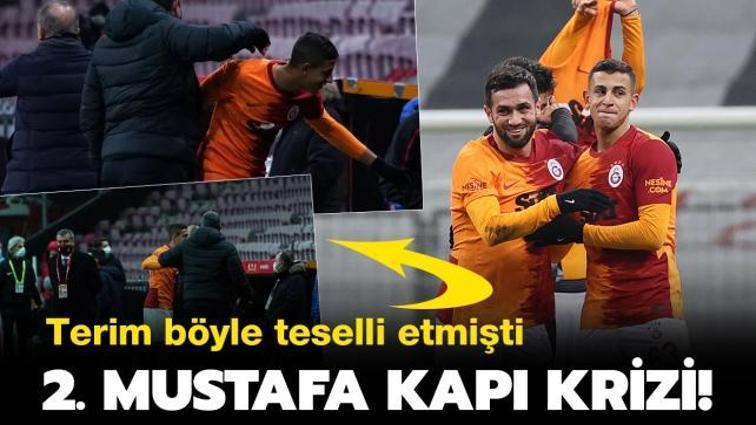 Son dakika Galatasaray haberi... Galatasaray'da 2. Mustafa Kapı vakası! Terim'in teselli ettiği Bartuğ Elmaz'da kriz