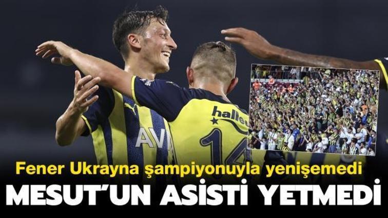 Mesut'un asisti yetmedi: Fenerbahçe hazırlık maçında Dinamo Kiev ile berabere kaldı