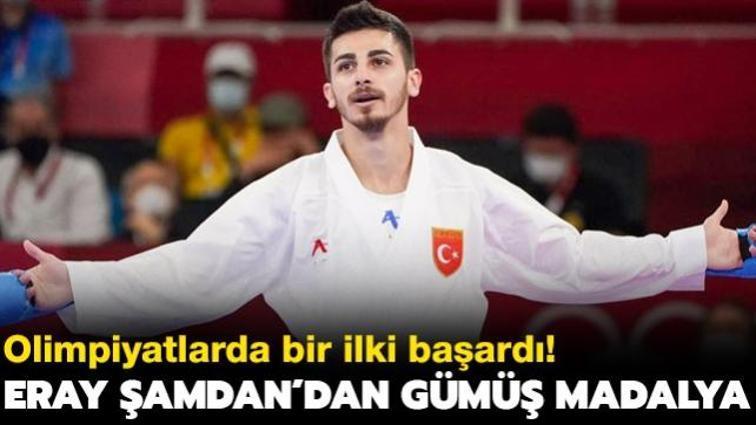 Eray Şamdan gümüş madalyayla olimpiyatları kapattı