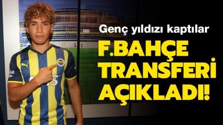 Fenerbahçe genç yıldızı kadrosuna kattığını açıkladı