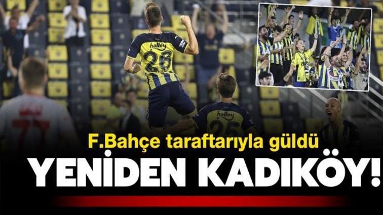 Yeniden Kadıköy! 2-0