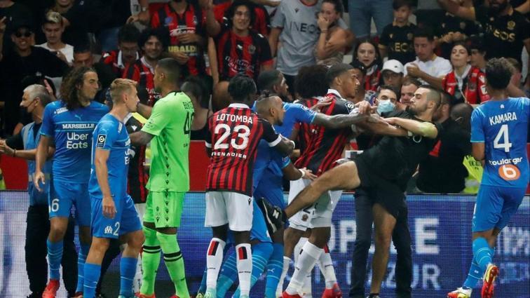 Fransa Spor Bakanı'ndan Nice-Marsilya maçında çıkan olaylara tepki: Kırmızı çizgi aşıldı
