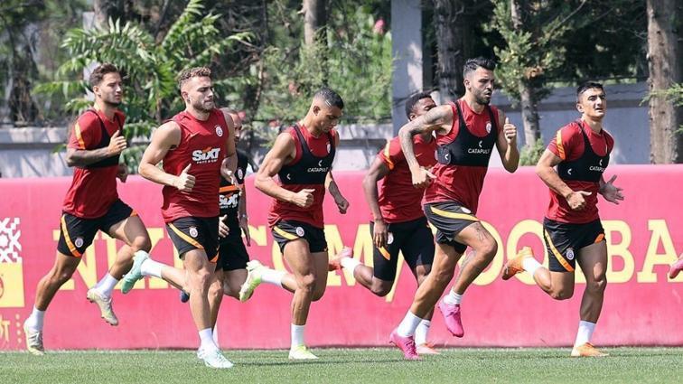 Galatasaray'da Randers mesaisi başladı