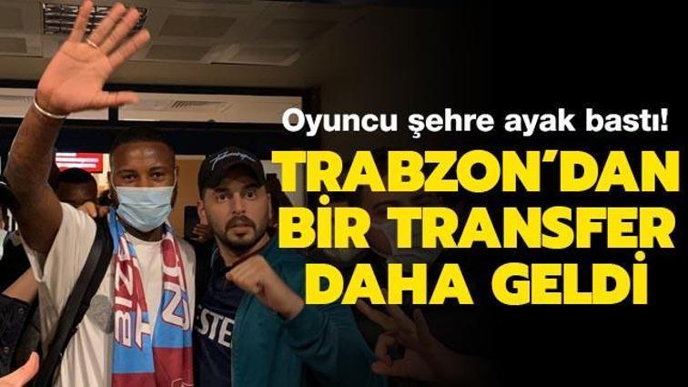 Trabzonspor'da Stefano Denswill imza için şehre geldi