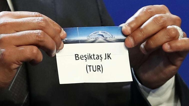 Beşiktaş'ın Şampiyonlar Ligi'ndeki rakipleri belli oluyor