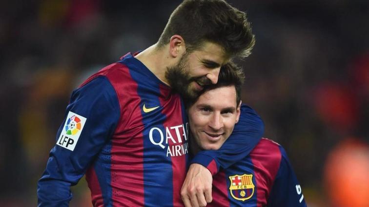 Gerrard Pique'den yayın hamlesi! Messi için satın aldı...