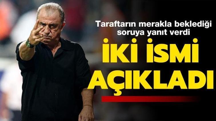 Fatih Terim'den maç sonu transfer açıklaması: Halil Dervişoğlu ve Gedson Fernandes...