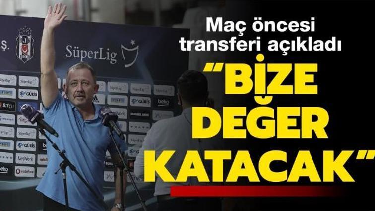 Son dakika Beşiktaş haberleri... Sergen Yalçın canlı yayında Umut Meraş'ı açıkladı: Bize değer katacak