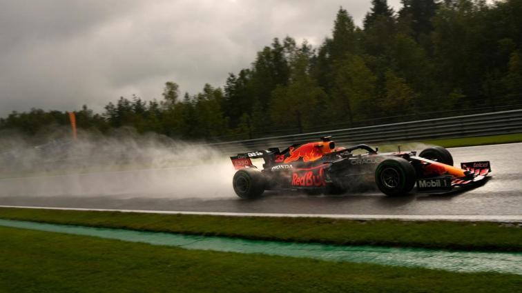 F1 Belçika'da pole pozisyonu Max Verstappen'in