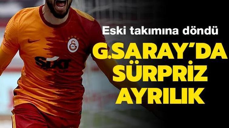 Galatasaray'da Emre Akbaba Alanyaspor'a kiralandı
