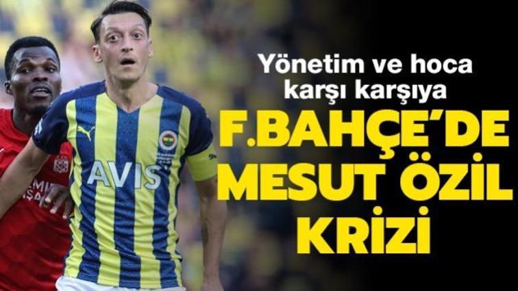 Fenerbahçe'de Mesut Özil bilmecesi yaşanıyor