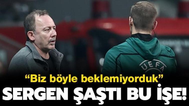 Borussia Dortmund'un oyun planı Sergen Yalçın'ı şaşırttı: Daha ofansif bekliyorduk