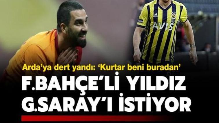 Fenerbahçeli yıldız, Galatasaray'a gitmek için mesaj yolladı