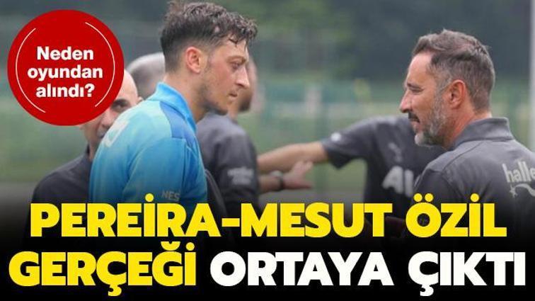 İşte Mesut Özil'in oyundan alınma sebebi