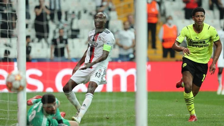 Beşiktaş, Borussia Dortmund maçında bu sezon ilk kez kalesinde gol gördü