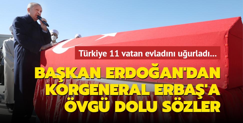 Türkiye 11 vatan evladını uğurladı