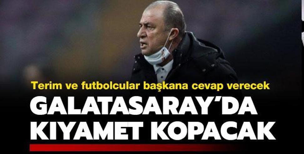 Galatasaray'da kıyamet kopacak! Gözler Terim'de