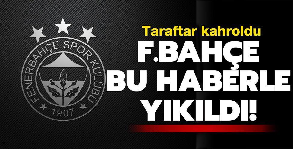 Fenerbahçe'yi yıkan haber! Sezonu kapattı...