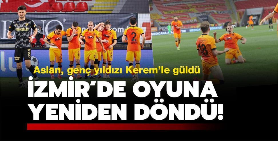 İzmir'de kazandı, yeniden yarışa döndü!