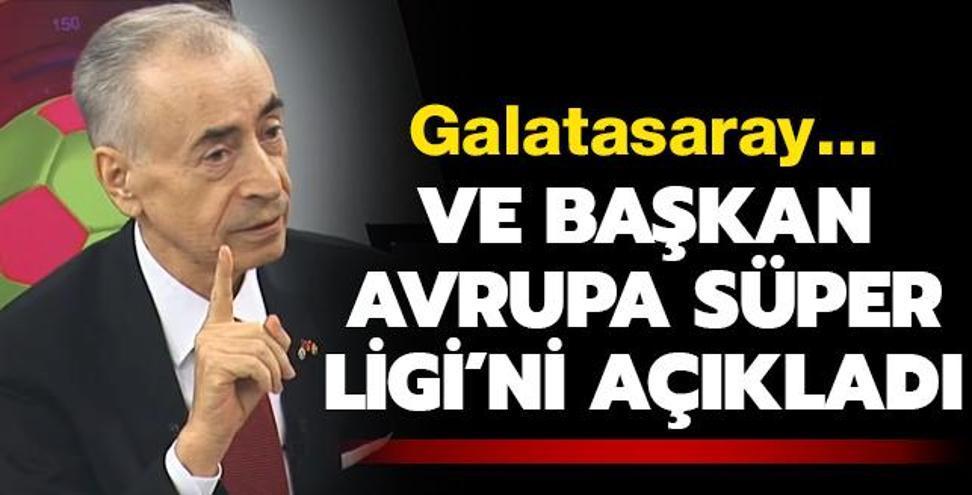 Ve Mustafa Cengiz, Avrupa Süper Ligi'ni açıkladı! G.Saray...
