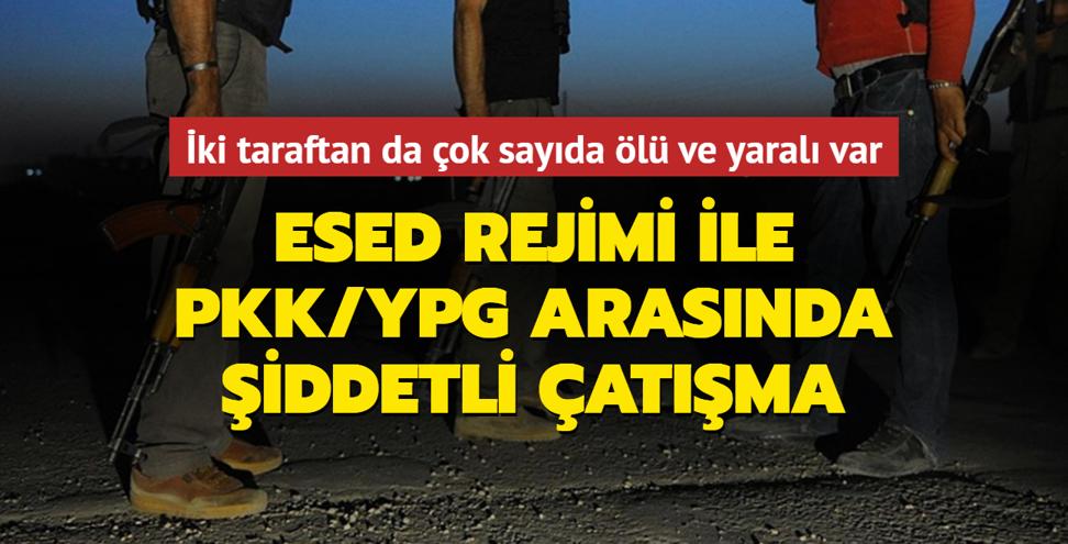 Esed rejimi ile PKK/YPG birbirine girdi
