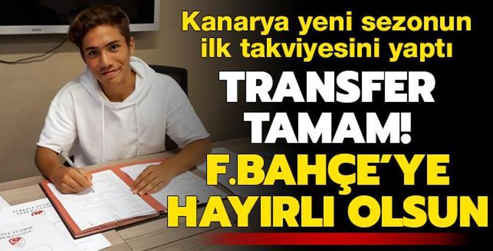 Transfer tamam! Fenerbahçe'ye hayırlı olsun