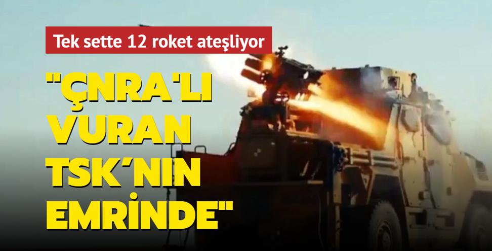 SSB İsmail Demir'den heyecanlandıran açıklama: ÇNRA'lı Vuran TSK'nın emrinde